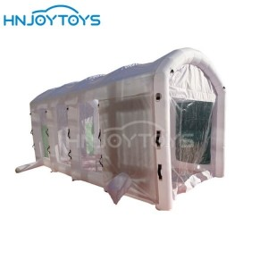 mobile car paint booth
