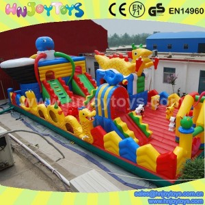 large inflatable dragon bouncer on sale