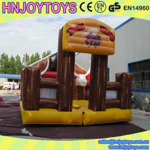 inflatable mechanical bull mat