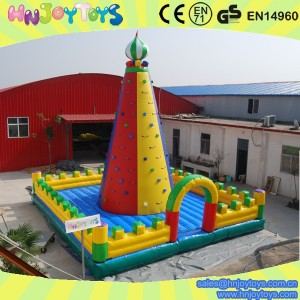 new design inflatable mountain climbing