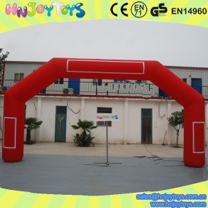 giant inflatable red arch on sale