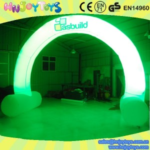 funny inflatable led arch