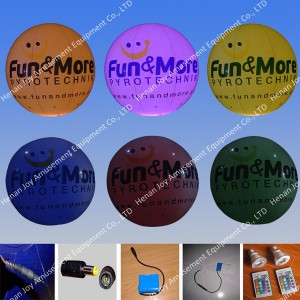 led inflatable advertising balloon