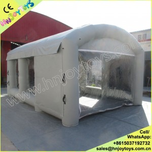 Mobile Paint Booth