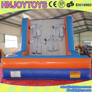 funny inflatable velcro wall