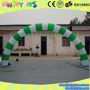 green color inflatable archway on sale