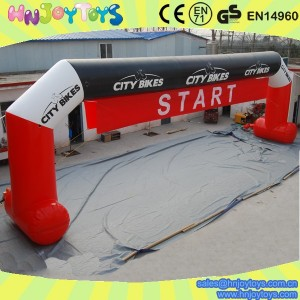 large inflatable sport arch