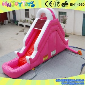 new design mini inflatable water slide