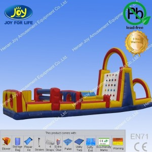 hulk 75 foot inflatable obstacle course