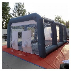 Inflatable Spray Booth Hire