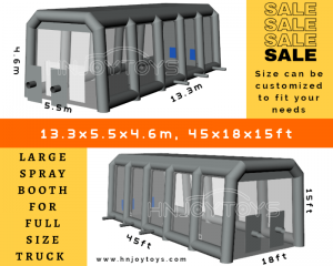 portable spray painting booths
