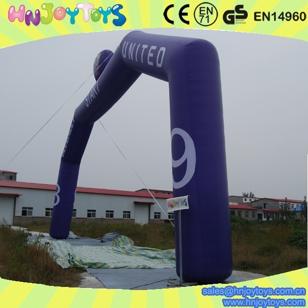 large inflatable sport arch for cheap sale